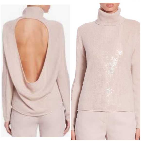 110ca854f54 ⭐NWT⭐Halston Cashmere Turtleneck Sweater